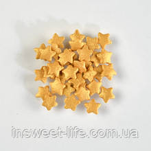 Сахарные звездочки золотые  250г/упаковка