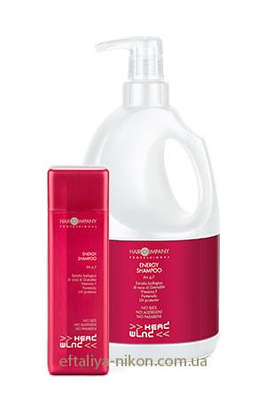 Энергетический шампунь для волос HAIR COMPANY pH 4,7. - 250 mL, 2000 mL.