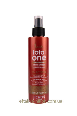 Мультиактивная несмываемая Маска-Спрей TOTAL ONE для поврежденных волос TOTAL ONE ECHOSLINE