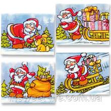 Табличка новогодняя с мастики  48 шт/упаковка