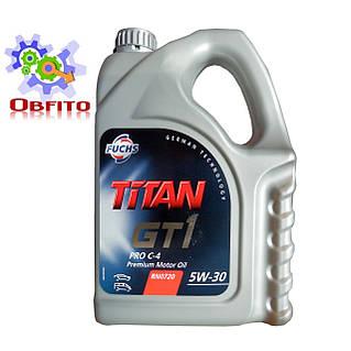 """Масло моторное синтетическое """"TITAN GT 1 PRO C-4 5W-30"""", 4л"""