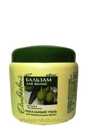 Бальзам Оливковый Bielita для нормальных волос