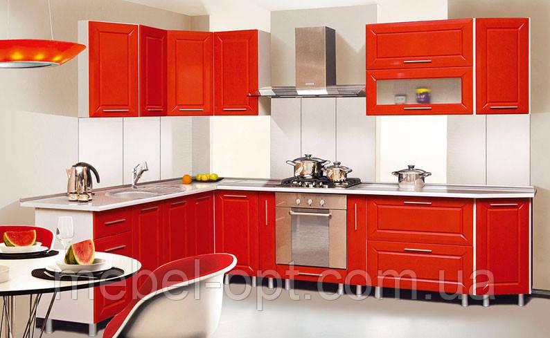 Недорогой кухонный гарнитур Сандра, выбор элементов кухни самостоятельный