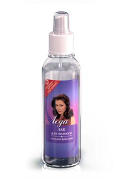 Лак для волос сильной фиксации - жидкие формы Леда