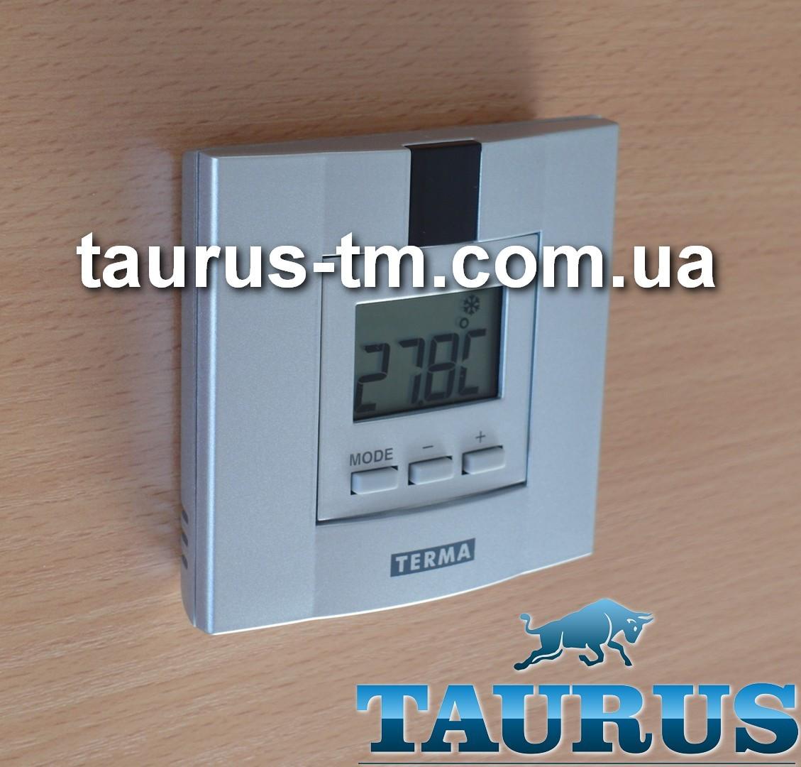 Беспроводной пульт управления DTiR silver + суточный программатор для ТЭНа в полотенцесушитель, серый. Польша
