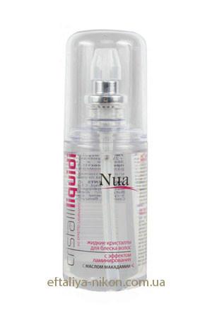 Жидкие кристаллы для блеска волос с эффектом ламинирования NUA