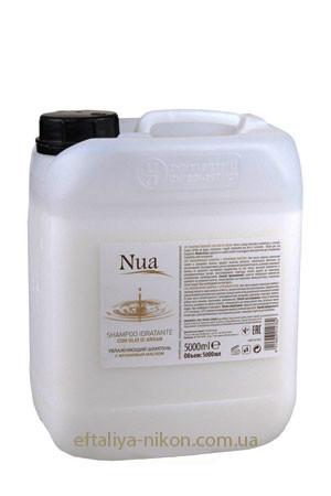 Увлажняющий шампунь с аргановым маслом NUA