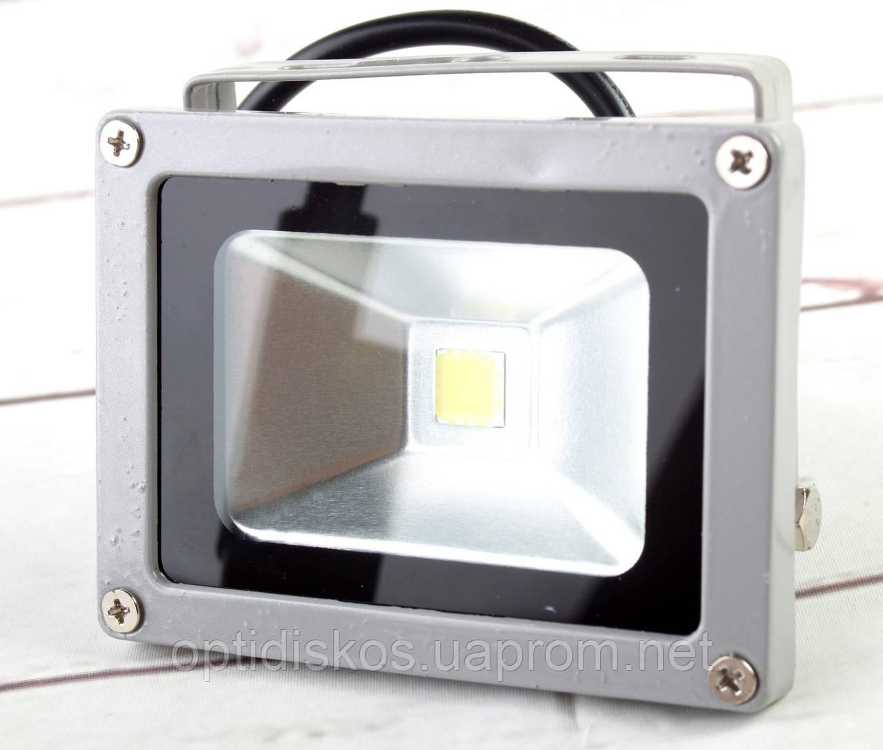 Светодиодный LED прожектор 10W, №4012