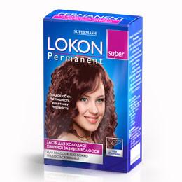 Средство для химической завивки трудных волос Lokon super Permanent Master LUX