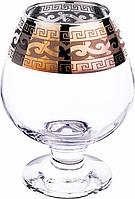 Набор бокалов для коньяка Гусь-Хрустальный Стекольный завод GE08-188 Версаче