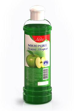 Жидкое мыло - Зеленое яблоко Леда