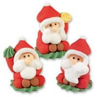 Дед Мороз с мастики  24 шт/упаковка