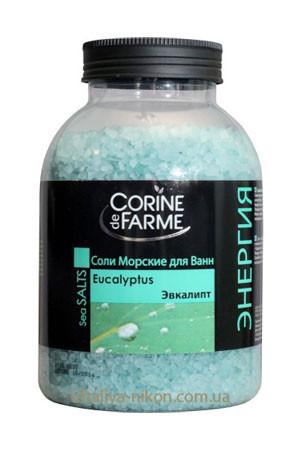 Соль для ванны с маслом Эвкалипта Corine de Farme