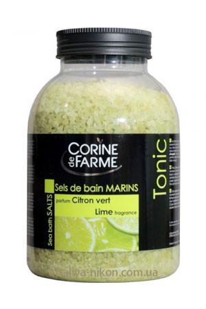 Соль для ванны с маслом Лайма Corine de Farme