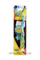 Зубная щетка Детская с держателем на присоске Sponge Bob DR.Fresh