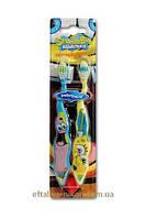 Зубная щетка 2 в 1 Детская Sponge Bob DR.Fresh