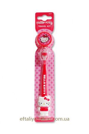 Зубная щетка Детская для путешествий DR.Fresh Hello Kitty