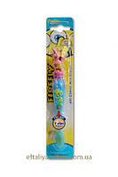 Зубная щетка Детская фигурная с подсветкой DR.Fresh Sponge Bob