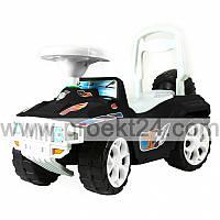 Машина для катания педальная черная 75*50*30см