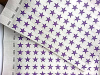 Контрольные браслеты на руку TYVEK фиолет звезда