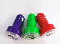 Авто зарядка 2 USB mini, зарядное устройство, usb мини зарядка