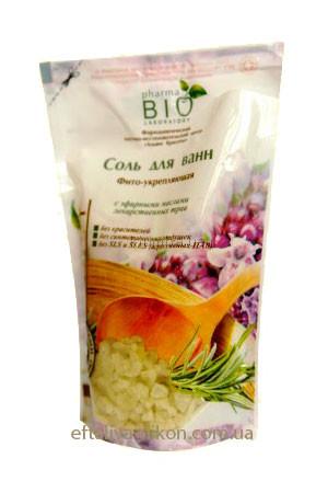 Соль для ванн Фито-укрепляющая BIO pharma Laboratory