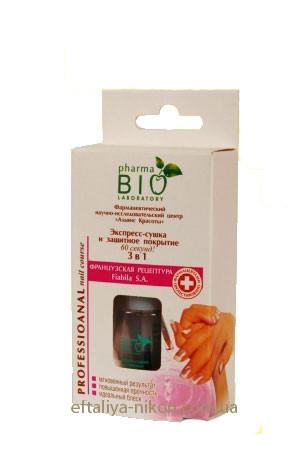 Экспресс-сушка и защитное покрытие для ногтей за 60 секунд 3 в 1. - 12 m