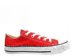 "Мужские кеды Converse Chuck Taylor All Star Low ""Red/White"""