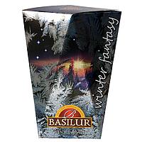 Черный чай Basilur Зимний рассвет картон 85 г Зимняя фантазия