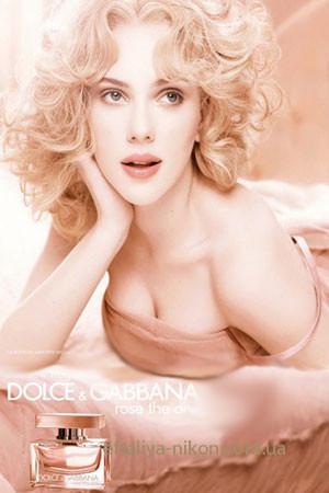 Женская туалетная вода DOLCE GABBANA The One Rose for women