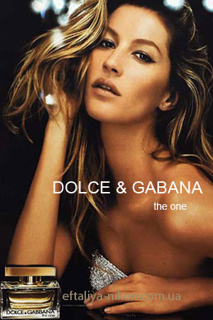 Женская туалетная вода DOLCE GABBANA The One for women