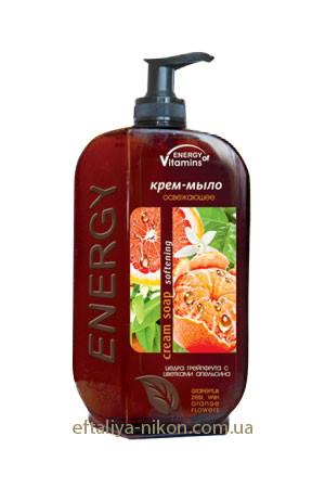 Крем-мыло Освежающее Energy of Vitamins