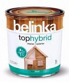 Belinka Tophybrid 0.75 л. Бесцветная 12 лазурное покрытие