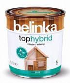 Belinka Tophybrid 2.5 л. Темный орех 4 лазурное покрытие
