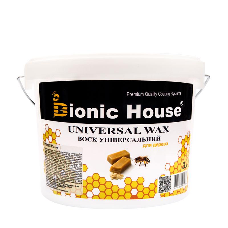 Віск для дерева Bionic House 3л
