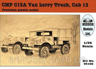 C15A Van Lorry Cab13 1/35 MIRROR 35102