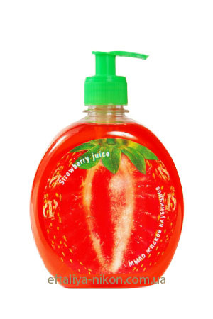 Мыло жидкое Клубничное Вкусные секреты Energy of Vitamins