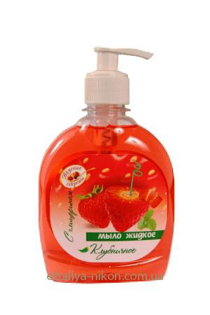 Мыло жидкое с глицерином Клубника Вкусные секреты Energy of Vitamins