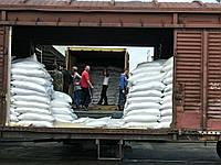 Перевалка грузов в мешках