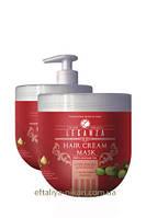 Маска для волос LEGANZA с аргановым маслом Rosa Impex