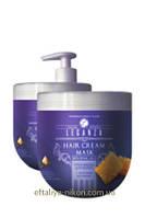 Маска для волос LEGANZA с маточным молочком Rosa Impex