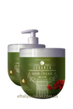 Маска для волос LEGANZA с экстрактом годжи Rosa Impex