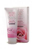 Нежный крем для умывания с микрогранулами Rose&Pear Rosa Impex
