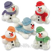 Сніговики з мастики 30 шт/упаковка