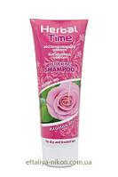 Восстанавливающий шампунь Rosa Impex