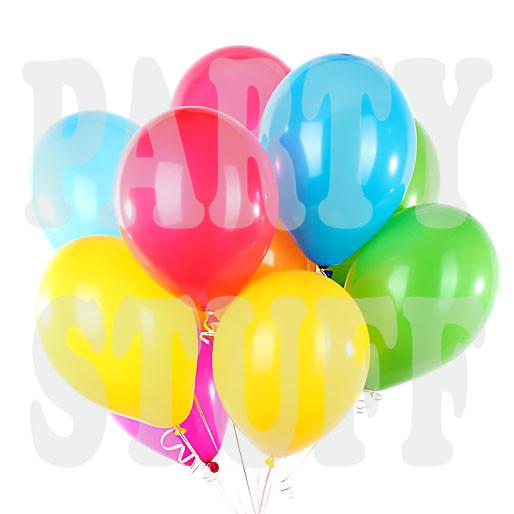Воздушные шарики Gemar А70 пастель ассорти, 7' (19 см) 100 шт