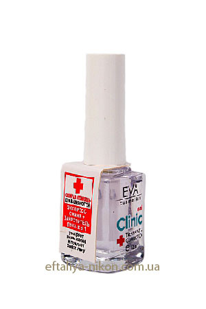 Лак для ногтей EVA сушка+закрепитель 2 в 1. - 12 mL