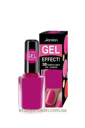 Лак для ногтей Jerden Гель Эффект. - 9 mL