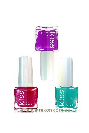 Декоративный лак для ногтей Jerden KISS. - 9 mL