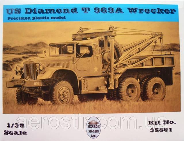 US Diamond T 969A Wrecker 1/35 MIRROR 35801